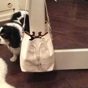 Proenza Schouler White drawstring Bucket Bag